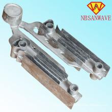 Aluminio a presión fundición radiador de aluminio