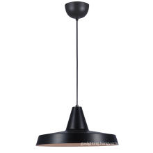 Modern Black Steel E27 Kitchen Pendant Light (MD6160-350B)