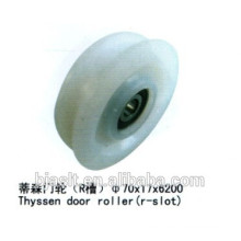 Elevator Door Roller (R- slot) for elevator parts