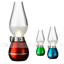 Klassische Dekoration Sensor Blassteuerung LED Nachtlicht (LNT007A)
