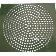 Feuille perforée ronde perforée (usine)