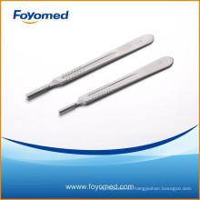 Buen precio y calidad Cuchillo quirúrgico de acero inoxidable maneja con CE, certificación ISO