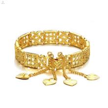 2018 Nouvelle arrivée produits à la mode cadeau creux femelle plaqué or bracelet