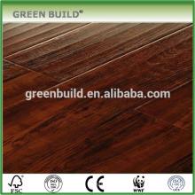 УФ лак тонированный тик щеткой проектированный деревянный настил
