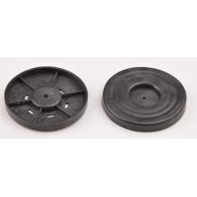 Piezas moldeadas de plástico ABS para polvo según pedido
