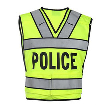 High Quality Fashion Reflective Safety Vest for Police