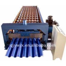 Perfil Trapezoidal Acero Techo / Panel de pared Máquina formadora de rollos