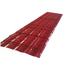 дешевая цена 045 мм кровельная стена / один цветной стальной лист