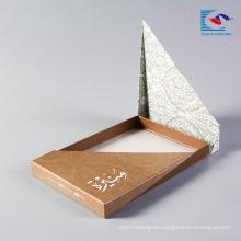 mascarilla Kraft packaging paper box