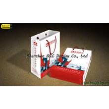 Paper Sack, Coated Paper, Chrome Paper Box, Gift Box Design (B&C-I031)