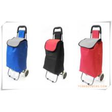 Bolso de la carretilla de las compras de dos ruedas para los regalos promocionales (HA82008)