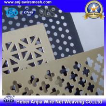 Перфорированный алюминиевый лист для украшения с CE, RoHS