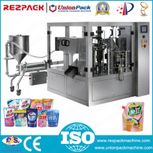 Automatic Liquid Weighing Filling Sealing Food Packaging Machine