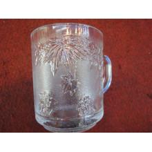 Glass Cup Verre à bière en verre transparent Verrerie de verre Kb-Hn0490