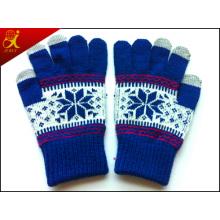 Écran tactile de gants pour l'hiver