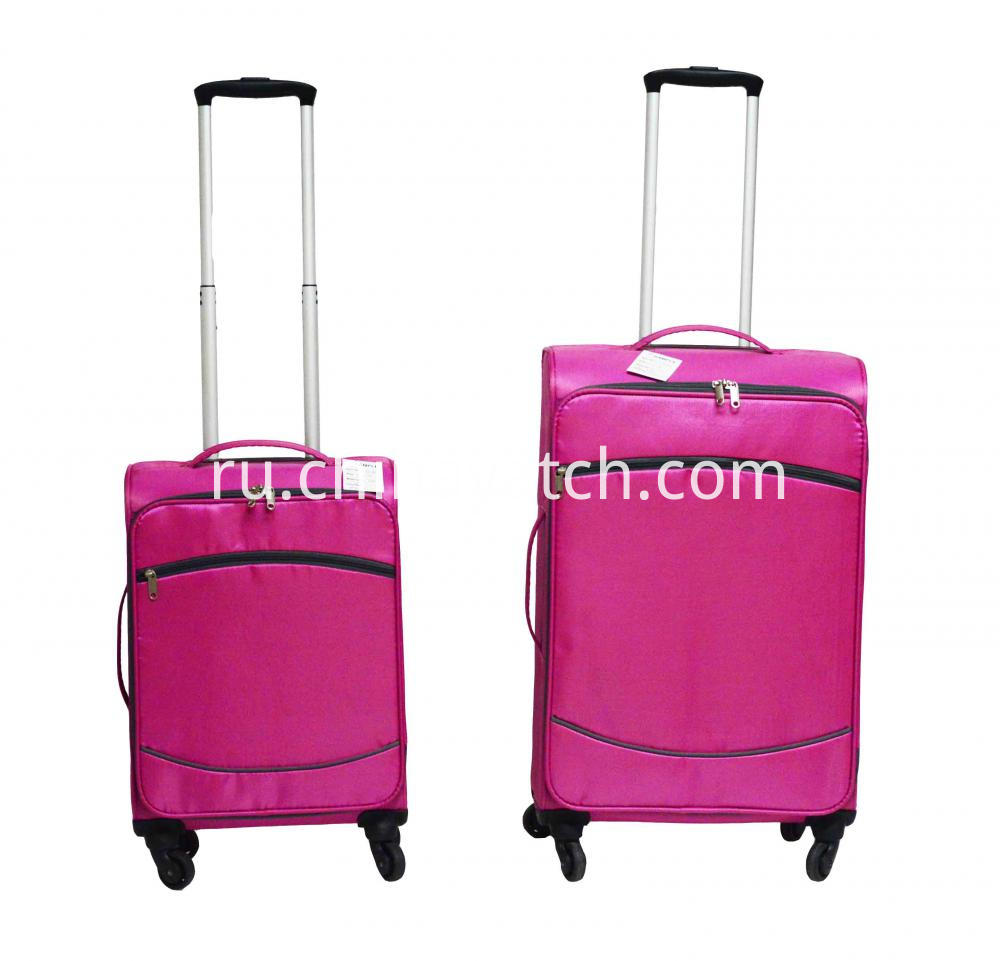 Wheeled Aluminium Trolley Soft Trolley Bag