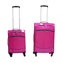 Carry on Wheeled Aluminium Trolley Soft Trolley Bag
