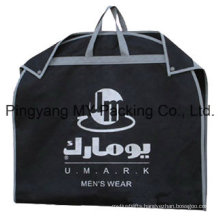 Custom PP Ziplock Garment Bags Suit Cover for Advertising