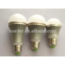 Aluminio e26 / e27 / b22 7w llevaron los bulbos llevados luz de bulbo al por mayor