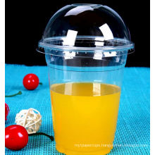 Disaposable Cold Drink Pet Cup, 98mm Pet Cup for Juice, Plastic Cup