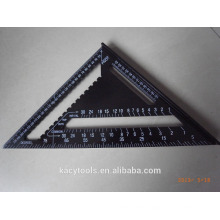 Aluminium Metal Metric Set Square Complete in specifications Triangle ruler 12 inch 45 Degrees