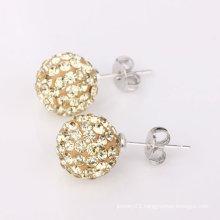 Stud Shamballa Earrings Basketball Wives Earrings BWE60