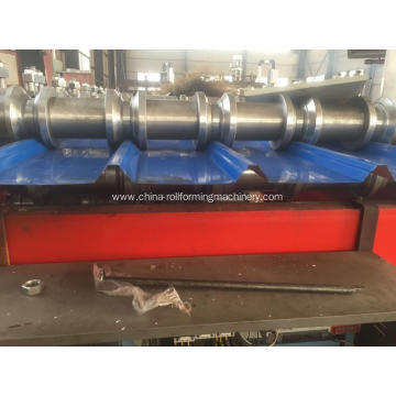 Spandek roof roll forming machine