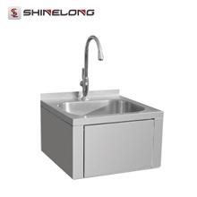 Preço barato Kitchen Stainless Steel 201/304 pia de cozinha pequena