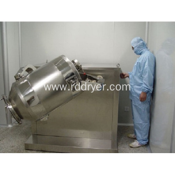 Three -Dimensional High Efficient Pharmaceutical Powder Mixer Machine