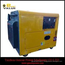 Générateur diesel silencieux de générateur de 6.5kVA de bon prix