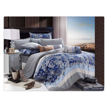 Luxury 40s 128*68 pigment printing 100% cotton sheets