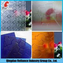 3-6mm Getöntes Muster Glas / Farbe Abbildung Glas / Grün Muster Glas / Grau Figur Glas / Blau Muster Glas / Bronze Muster Glas
