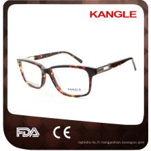Haute qualité best seller acétate montures optiques et lunettes lunettes