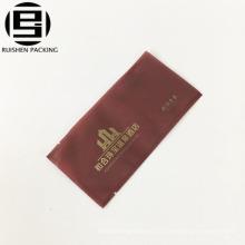 Bolso de plástico del embalaje del cepillo de dientes de alta calidad para el bolso de kit del viaje del afeitado del hotel