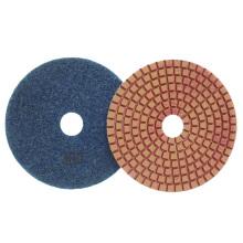 Coussins de polissage humides en résine convexe flexible en diamant