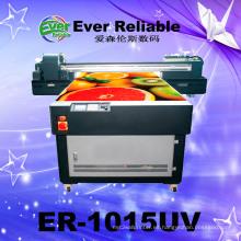 Impresora plana automática para imprimir metal / madera impresora UV