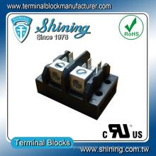 TGP-XXX-A Serie 2 ~ 12 Pole Bloque Terminal de Distribución de Energía Eléctrica