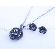 Fashion Rose Design Set Jewelry