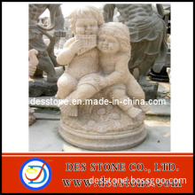 Garden Decorative Yellow Stone Yellow Carving and Sculpture