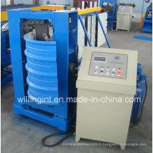 Machine de sertissage de toit en acier à courbe hydraulique