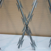 Single Twisted Iron Razor Barbed Wire