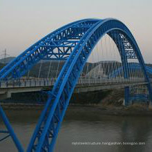Wz-B031 Designed Steel Structure Prefabricated Bridge