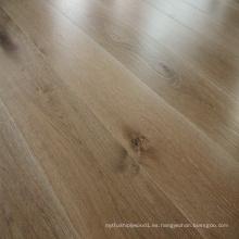 Ahumado blanco aceitado ingeniería roble suelo de madera