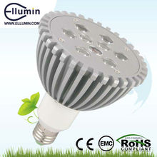led stage light par 9w warm white light
