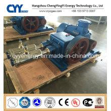 Cyyp 70 Ununterbrochener Service Großer Durchfluss und hoher Druck LNG Liquid Oxygen Stickstoff Argon Multiserise Kolbenpumpe