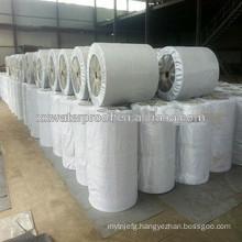 Fiberglass compound base reinforcement for waterproof membrane