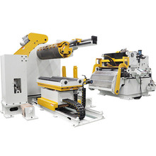 Kompakt-Coil-Handling und Press-Feeding-Maschine