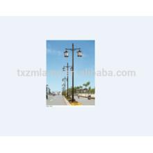 Producto popular de la mejor calidad acero Q235 galvanizado poste de alumbrado público 12 m base