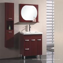 Meubles de salle de bain en surface de mélamine avec une bonne qualité (SW-PB173)