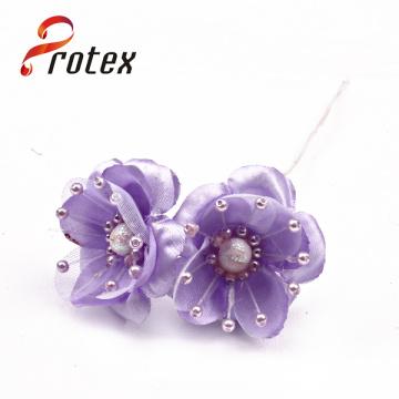 Mini Artificial Látex Flores Orquídeas